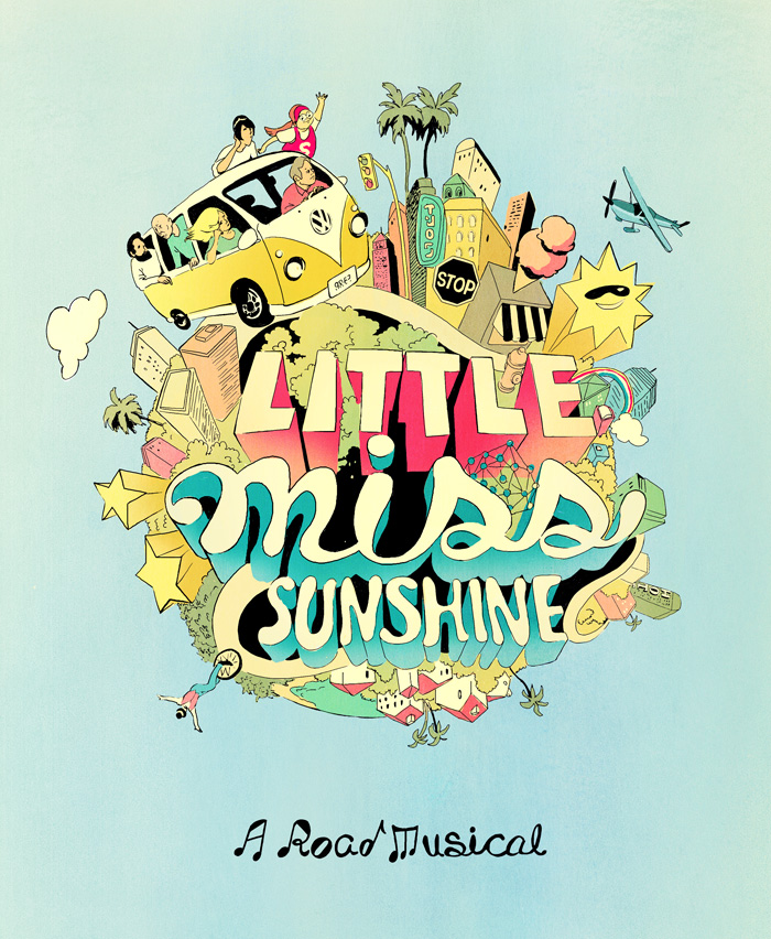 Christina Ung Illustrations- Little Miss Sunshine