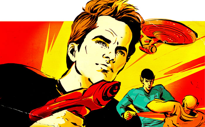 Christina Ung Illustrations - Star Trek