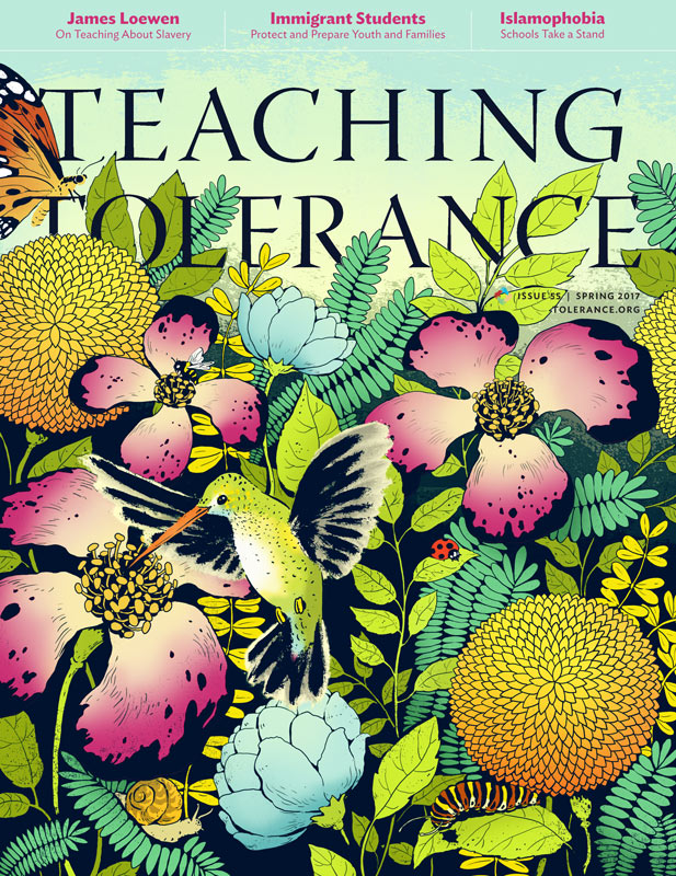 Christina Ung illustration - Teacher Tolerance Magazine Cover