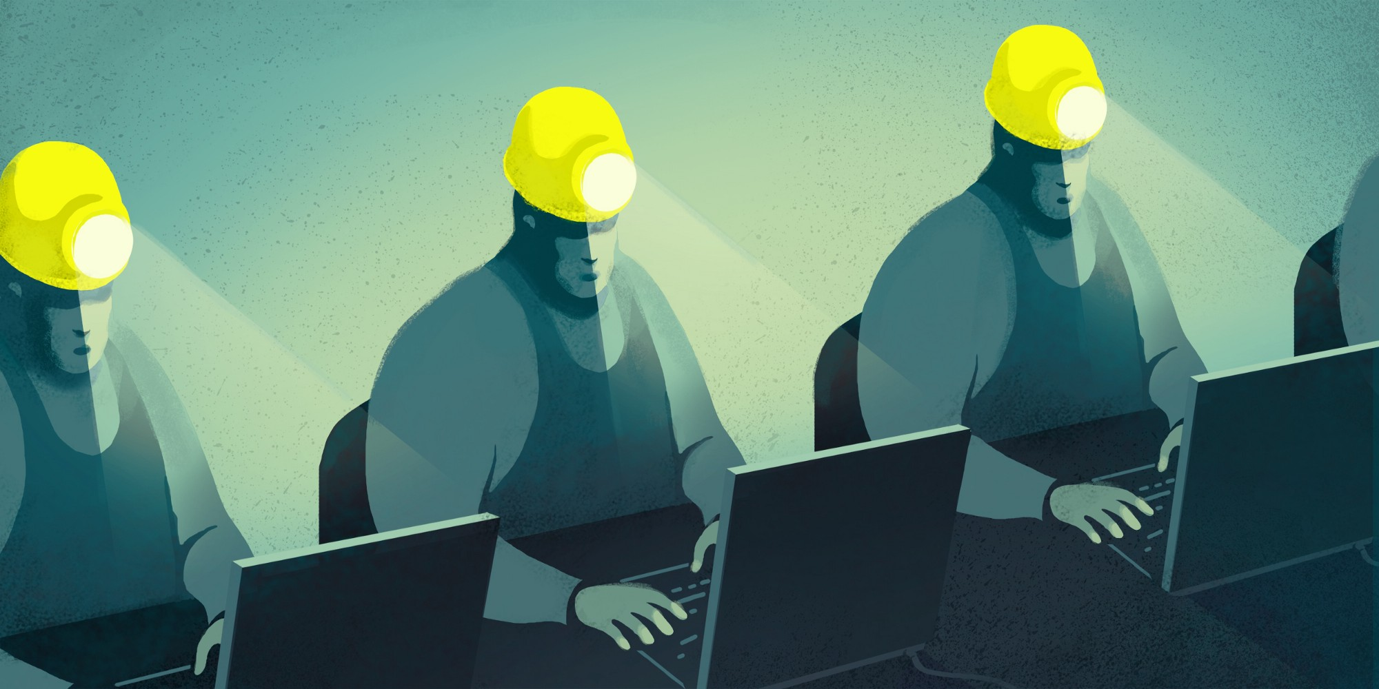 Christina Ung Illustration - Coal Miner's Code